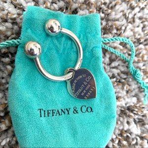 Tiffany & Co Return to Tiffany Heart Tag Key Ring